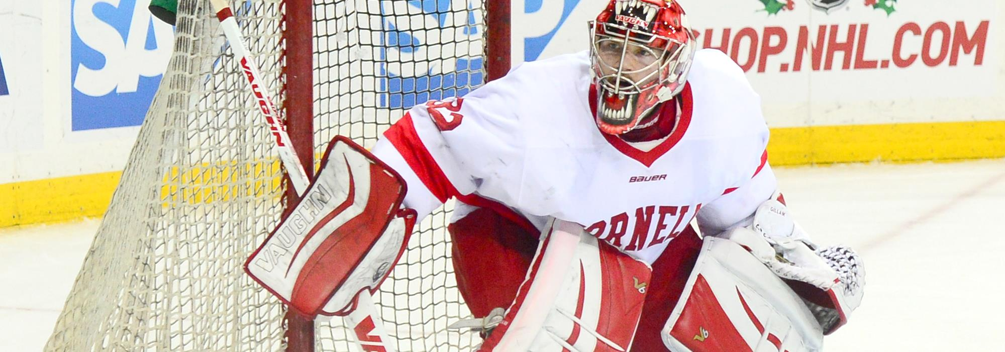 ECAC: Cornell Tops Colgate, 4-0, In Gillam's 10th Shutout